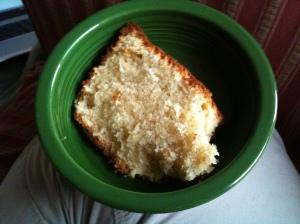 GF Ricotta Pound Cake